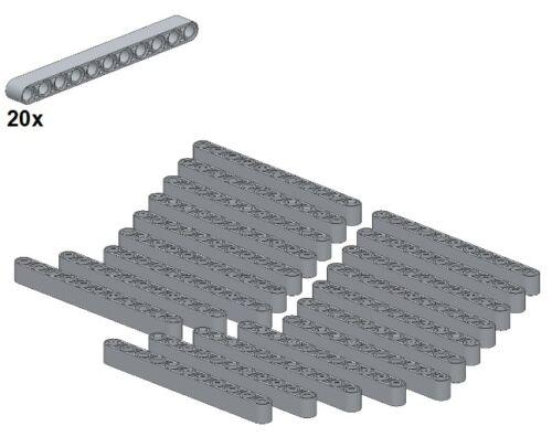 32525-10 Lightbluishgray 20Stk - Balken 1x11 LEGO® Technic Liftarms
