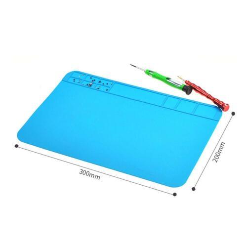 Silicone Anti Static Heat Insulation Pad Soldering Work Repair Maintenance Mats