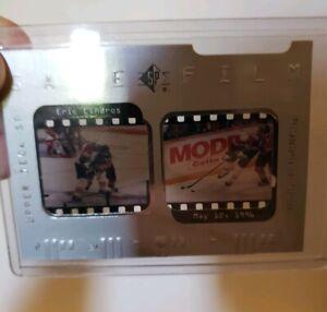 Eric-Lindros-GAME-FILM-UPPER-DECK-SP-Card-GF6-Philadelphia-vs-Florida-5-12-96