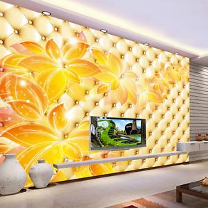 3D goldenes Blatt Muster 45 Tapete Tapeten Mauer Foto Familie Tapete Wandgemälde