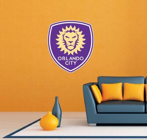 "Orlando City SC FC MLS USA Football Soccer Wall Decor Sticker Decal 20/""X25/"""