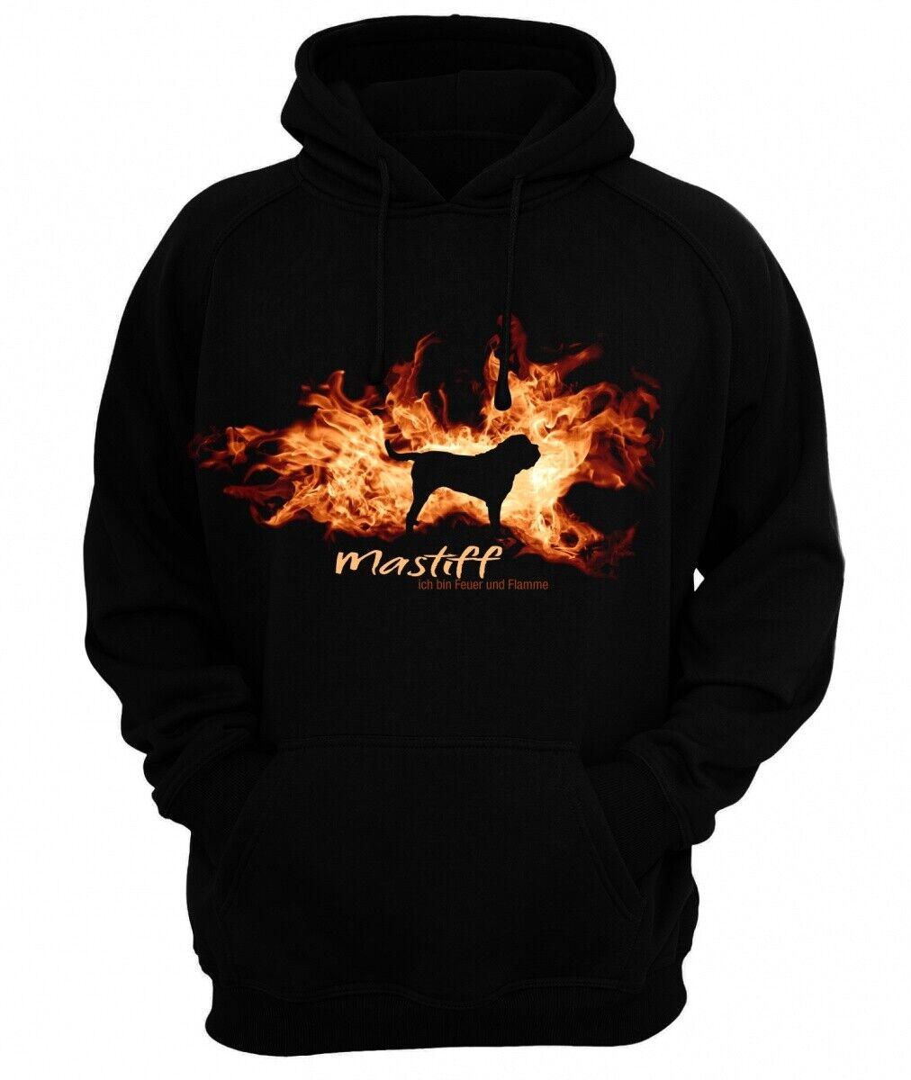 Sweatshirt MASTIFF FEUER UND FLAMME by Siviwonder Hoodie