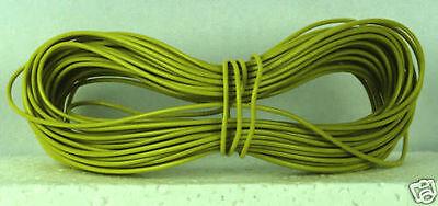 Model Railway//Railroad Layout//Point Motor etc Wire 1x10m Roll 7//0.2mm 1.4A Green