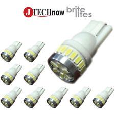 Jtech 10x 194 168 2825 T10 5 SMD White LED Car Lights Bulb