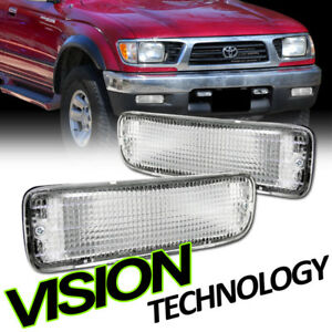 for 95 97 00 toyota tacoma 4wd 2wd chrome turn signal. Black Bedroom Furniture Sets. Home Design Ideas