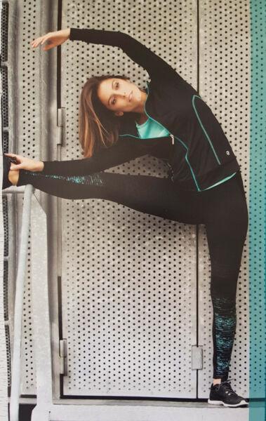 FOR SPORT Damen FITNESS HOSE stretch S/M/L 36/38/40/42/44/46 Sporthose Leggings
