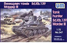 UNIMODELS 347 1/72 Tank hunter Sd.Kfz. 139 Marder III