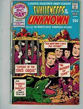 Super DC Giant S-25 (Jul-Aug 1971, DC)! FN5.5-! Bronze age DC beauty! Jack Kirby