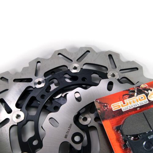 Pads XJ 600 S//N Diversion 1998 1999 2000 2001 2002 2003 Yamaha F+R Brake Rotor