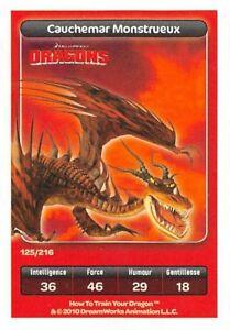 Card-Carrefour-Dreamworks-Dragons-Cauchemar-Monstrous-No-125