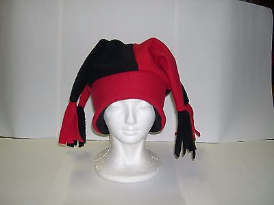 Fleece Jester Hat Pick your own solid colors NEW