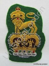General Staff Officer Cap Badge Green R1102