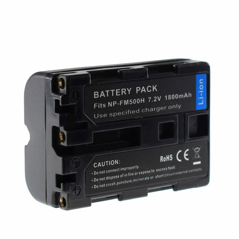 1800mAH Battery for Sony Alpha SLT-A99 A99 II SLT-A77 A77 II, SLT-A68 NP-FM500H