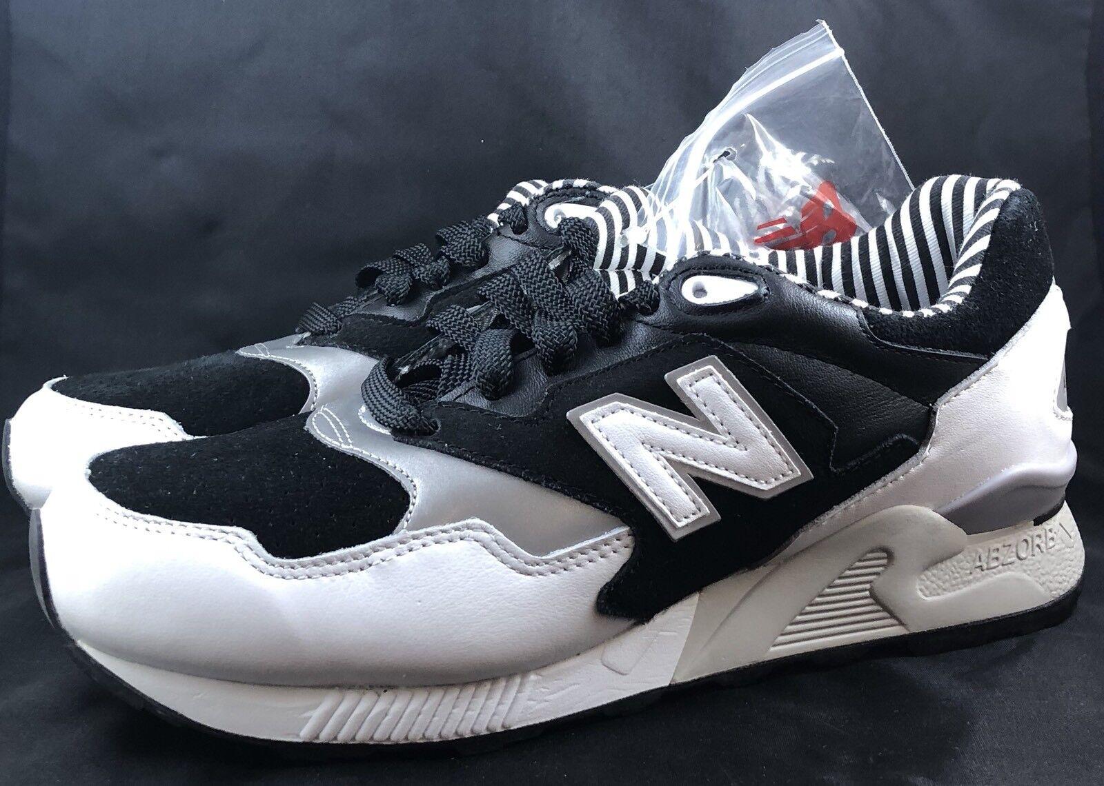 New Balance 878 SZ 7 ML878NPA Prep Blanc Noir Concrete Concrete Noir 8e984e