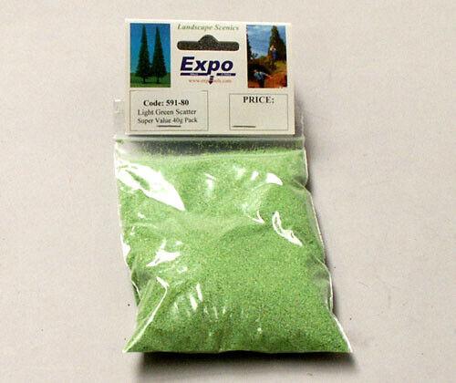 Expo 40g Light Green Scatter # 59180