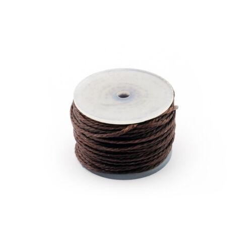 Osborne Waxed Brown Thread #413R-BW Thread Reel For Automatic Sewing Awl C.S