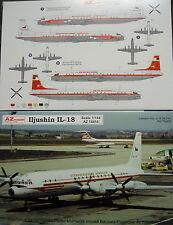 Iljuschin IL-18 Interflug / CZ, 1/144, AZ Model, Plastikmodellbausatz,