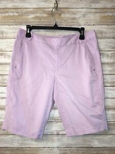 reputable site 7e76e 2d1b3 Details about Polo Ralph Lauren Golf Shorts Bermuda Shorts Purple Womens 6