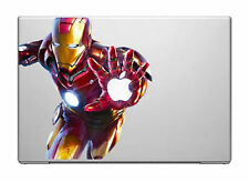 """IRON MAN [ATTACCO!] Portatile Vinile Adesivo per MacBook 13"""", 15"""" o 17"""""""