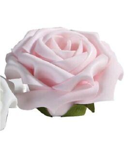 POSTEN-12x-Foam-Flower-Rose-rosa-8-cm-Tischdeko-UVP-je-1-99-2
