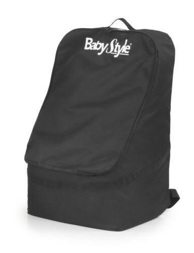 A estrenar en paquete BabyStyle cochecito y asiento de coche bolsa de viaje en Negro