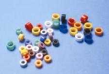 SILICONE COLOR CODE RINGS 80/PK ASSORTED COLORS