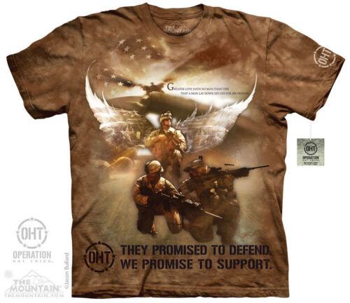 THE MOUNTAIN COMBAT SOLDIERS ARMY MARINES SUPPORT USA MILITARY T SHIRT S-5XL