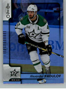 2017-18-O-Pee-Chee-Rainbow-Foil-606-Alexander-Radulov-Stars-Hockey-NHL