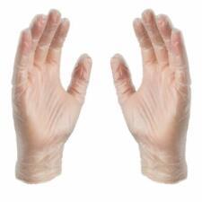 100 Pack Clear Exam Medical Vpf Latex Free Vinyl Disposable Gloves Non Sterile