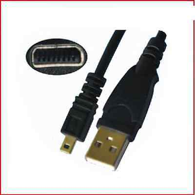 WholesaleCables   USB TO Pentax CABLE 8pins WC-U007-3