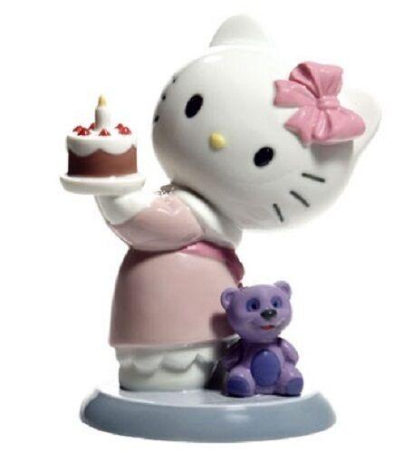 Nao par Lladro  porcelaine figurine hello kitty Joyeux Anniversaire 02001695  parfait