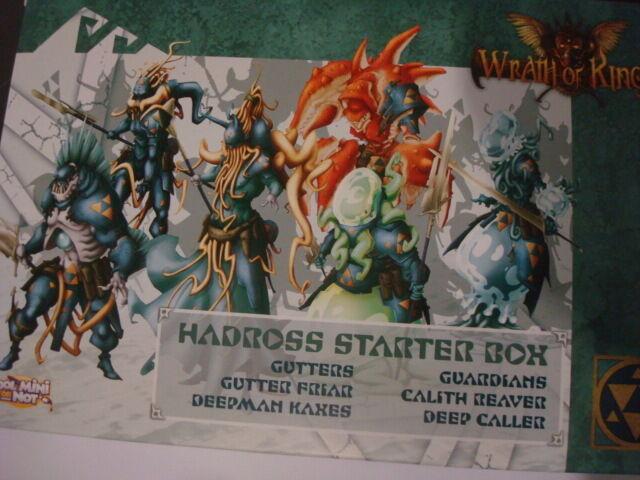 Wrath of Kings Hadross Starter Box plastic nuevo new