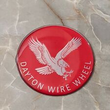 Red Eagle Dayton Zenith Wire Wheel Chips Emblems Decals Set Of 4 Size 225in