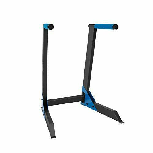 FUEL Dip Station Home Gym Equipment w// Padded Angled Grips for Chest /& Triceps