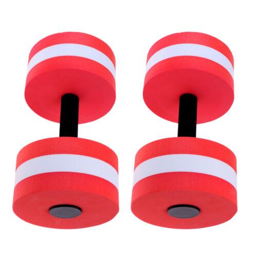 Set of 2 Aquatic Exercise Dumbbells  Barbells For Water Aerobics