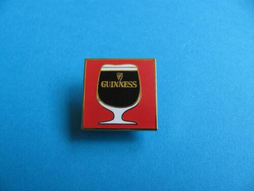 VGC Enamel. Guinness Stem Glass Pin Badge Unused