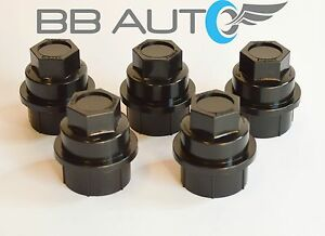 Lug Nut Cover For 1996-2002 GMC Safari; Wheel Nut Cover Covers Nuts Wheels Bla