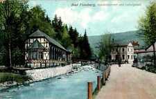 AK GRUSS AUS SCHLESIEN BAD FLINSBERG KR LÖWENBERG BEZ LIEGNITZ LUDWIGSBAD 1912