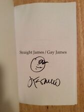 SIGNED & Doodled James Franco - Straight James / Gay James Poems + Pic