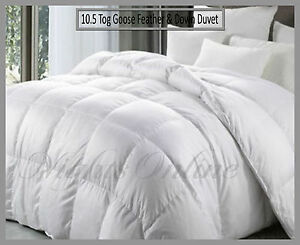 All-Season-Hotel-Quality-Goose-Feather-amp-Down-Duvet-15-Tog-10-5-amp-4-5-Quilt