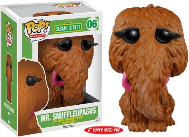 Funko Pop Sesame Street-Mr Snuffleupagus oversized VINILE figure 15cm