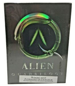 Alien Quadrilogy DVD 2003 9-Disc Set BRAND NEW FACTORY SEALED Fast Free Shipping