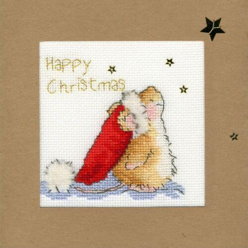 Bothy Threads ~ Counted Cross Stitch Kit ~ Christmas Card ~ Star Gazing ~ XMAS20