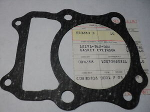 1973-78 HONDA XL175 XL 175 BASE GASKET OEM P/N 12191-362-000 ALT# 12191-362-306