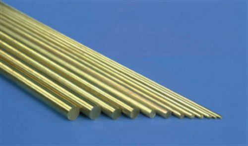 live steam 0.8 mm dia brass bar 2 x 300mm long