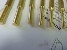 Latón Punch Set Punzones herramientas de seguridad barra de palanca Mazo Martillo Body Panel libre de trabajo