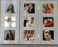 Room Divider Style Photo (picture) Frame 3 X 3 Photos Satin Finish