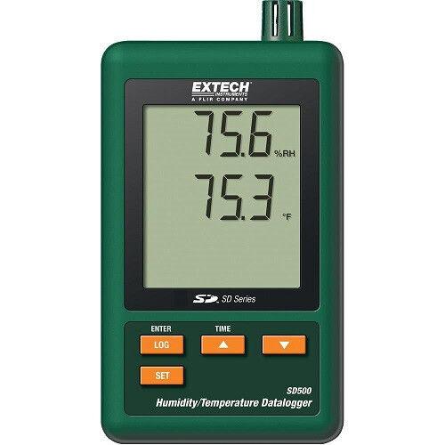 Extech sd500 SD-SERIE HYGRO Termometro datalogging Thermo data logger sd-500
