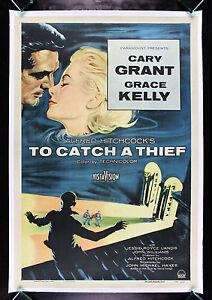 TO CATCH A THIEF * CineMasterpieces VINTAGE ORIGINAL ...