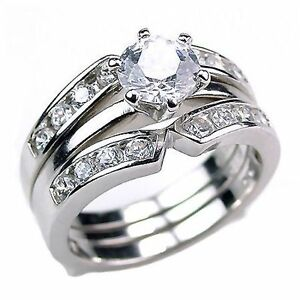 Holly-Sterling-Silver-2-2ct-Russian-Ice-on-Fire-CZ-Wedding-Set-with-Ring-Guard